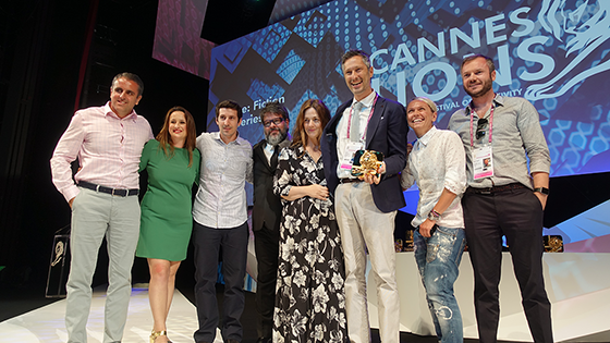 Cannes Lions 2017 - OgilvyOne Athens, Foss Productions, Mondelez International, on stage