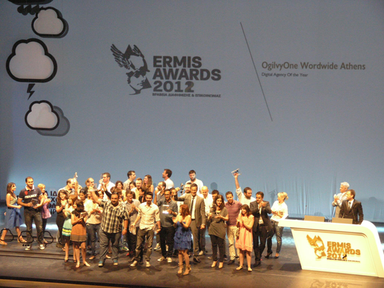 OgilvyOne Athens Digital Agency of the Year 2012