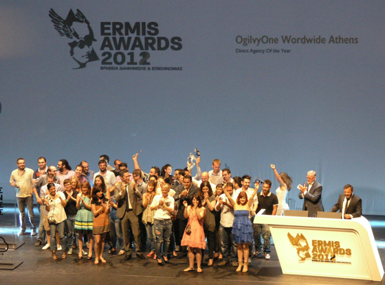 OgilvyOne Athens Direct Agency of the Year 2012