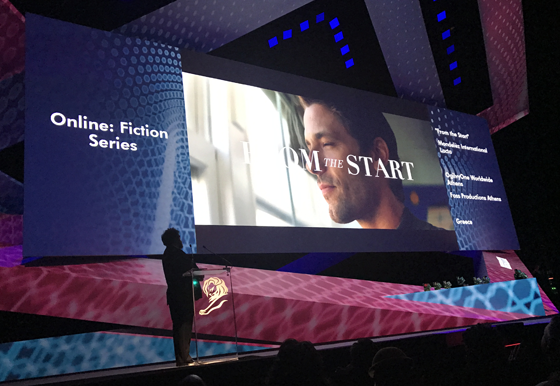 From the Start - Cannes Lions - Online: Fiction Series