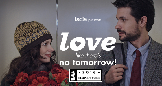 Love like there's no tomorrow - Webby People's Voice Award