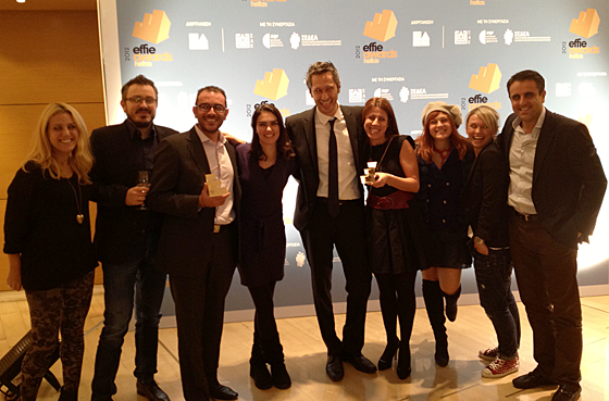 OgilvyOne and Kraft Foods win 2 Gold Effie Awards Hellas for Lacta